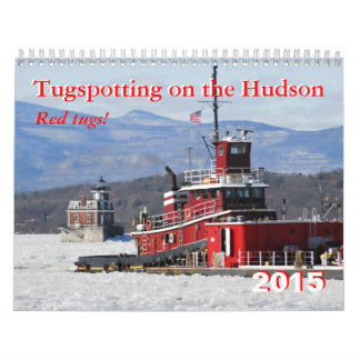 Red Tugs! Tugspotting on the Hudson Wall Calendar