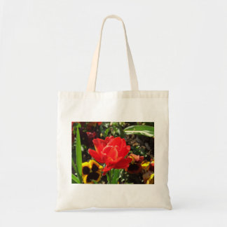 Red Tulip and Yellow Pansy Bags