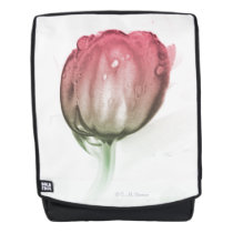 Red tulip backpack