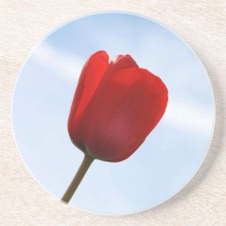 Red Tulip Coaster