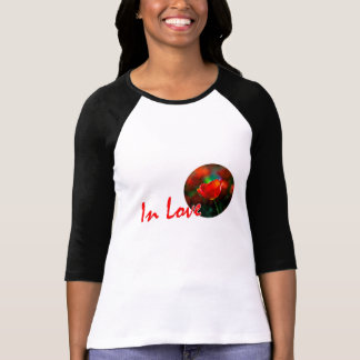 Red tulip flower - In Love T-Shirt