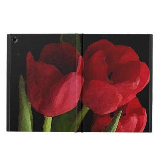 Red Tulip Flowers iPad Air Case