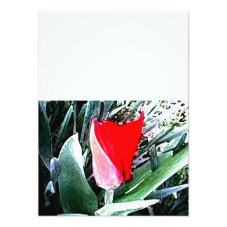 Red Tulip Invite