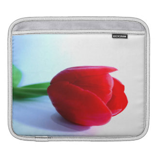 Red Tulip iPad Sleeve