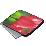 Red Tulip Laptop Computer Sleeve