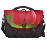 Red Tulip Laptop Messenger Bag
