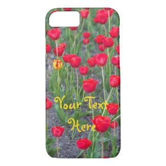 Red Tulip Phone Case -- Customizable