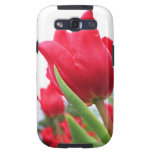 Red Tulip Photo Galaxy SIII Cases