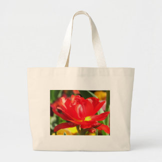 Red Tulip Photographs Canvas Bags