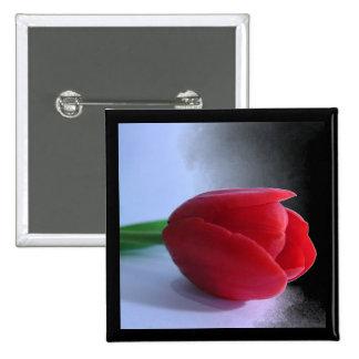 Red Tulip Pin