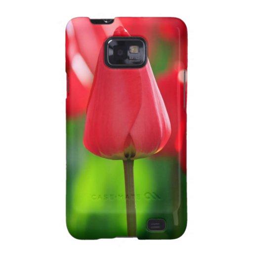 Red Tulip Samsung Galaxy S2 Cases