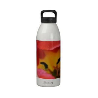 Red Tulip Drinking Bottle