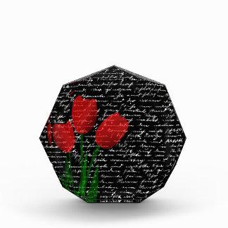 Red tulips award