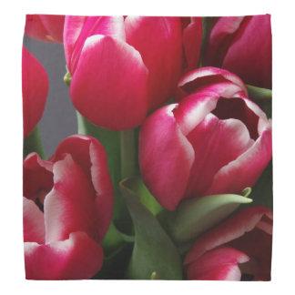 Red Tulips Bandana