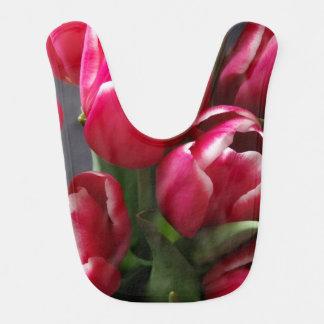 Red Tulips Bib