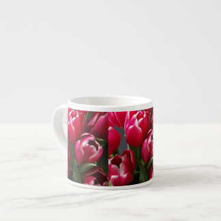Red Tulips Espresso Cup