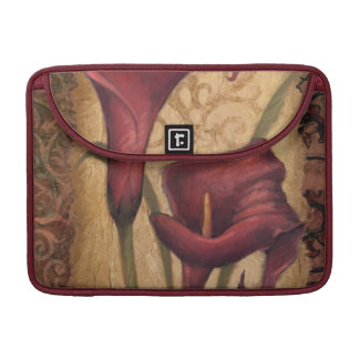 Red Tulips I MacBook Pro Sleeve