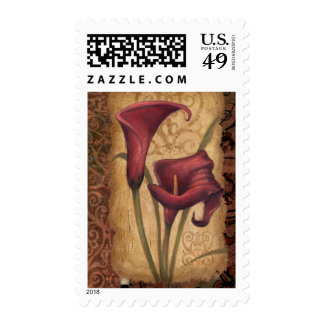 Red Tulips I Stamps