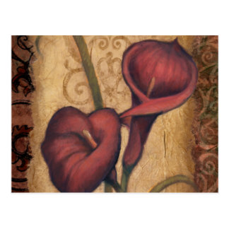 Red Tulips II Postcard