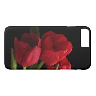 Red Tulips iPhone 7 Plus Case