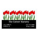 Red Tulips Nursery Business Card