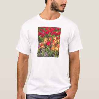 Red Tulips of Spring T-Shirt