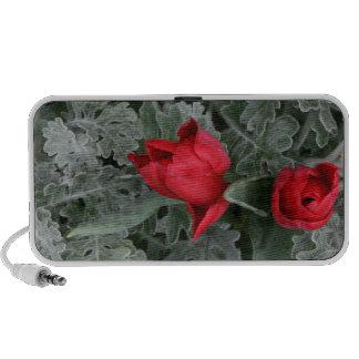 Red Tulips Portable Speaker