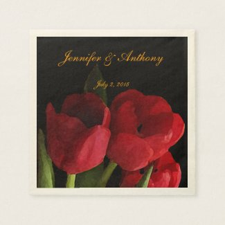 Red Tulips Wedding