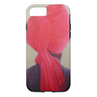 Red Turban Purple Jacket iPhone 7 Case