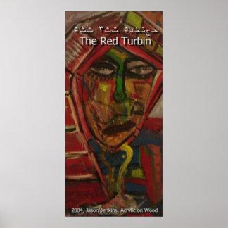 Red Turbin Poster
