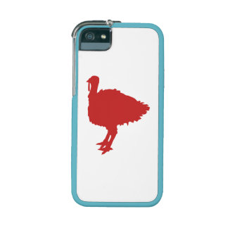 Red Turkey Silhouette iPhone 5/5S Cases