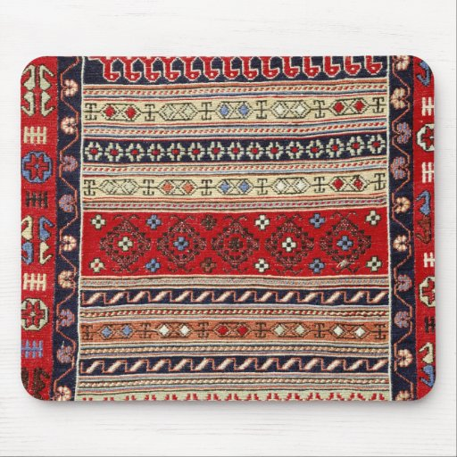 What Makes Turkish Rugs Great How You Can Read The Design Of A Turkish Rug: Red Turkish Rug Design Mouse Pad