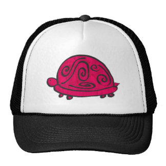 Red Turtle Mesh Hats