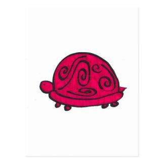 Red Turtle Postcard
