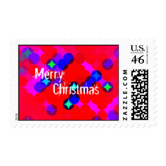 red twinkle customizable stamp