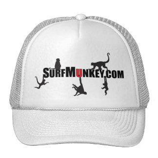 "Red ""U"" in Hanging Munkeys design Trucker Hat"