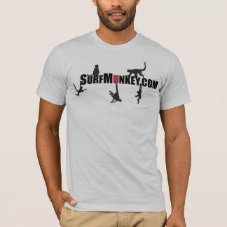 "Red ""U"" in the Hanging Munkeys design T-Shirt"
