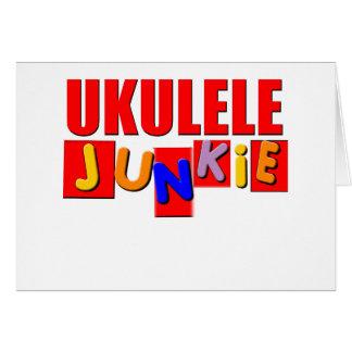 Red Ukulele Card