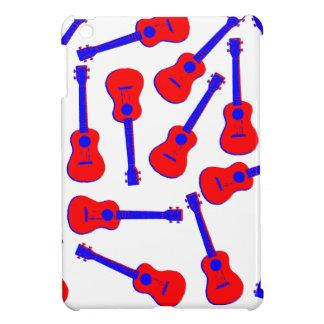 Red Ukulele iPad Mini Cases