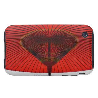 Red umbrella 2 iPhone 3 tough case