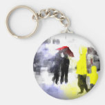 Red Umbrella Key Chain