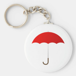 Red Umbrella Keychain