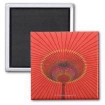 Red umbrella magnet
