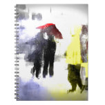 Red Umbrella Note Book