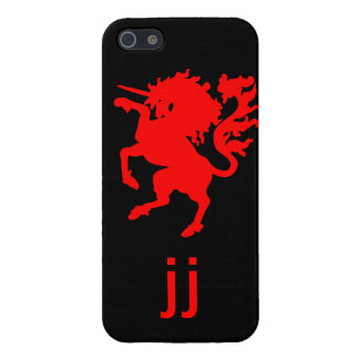 Red Unicorn, Personalized iPhone SE/5/5s Cover