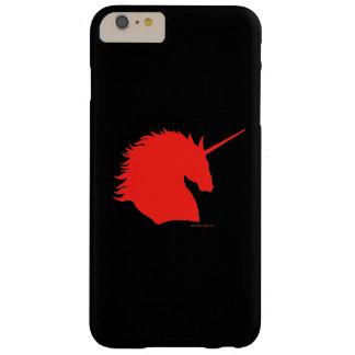 """""""Red Unicorn Sigil"""" Black iPhone 6 Plus Case"""
