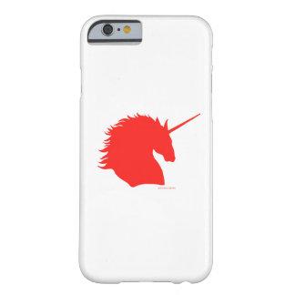 """""""Red Unicorn Sigil"""" White iPhone 6 Case"""