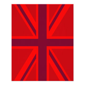 Red Union Jack Flyer