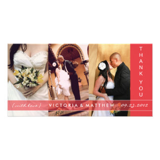 RED UNION | WEDDING THANK YOU CARD