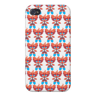 Red unknown dot cases for iPhone 4